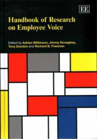 Handbook of research on employee voice cover