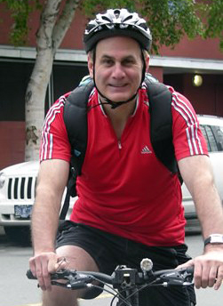 Michael Tanner cycling