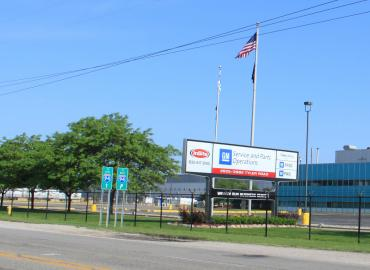 Photo of an American GM plant