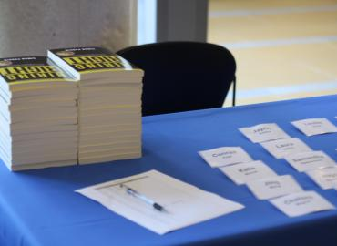 Books and registration tags